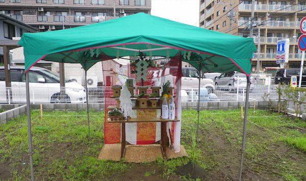 海老名南不動産の新家屋・地鎮祭記念写5